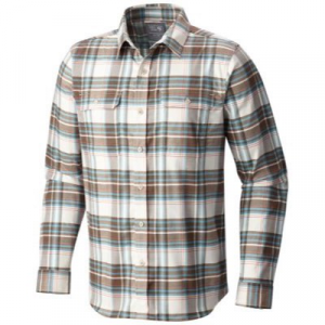 Mountain Hardwear Stretchstone Flannel Long Sleeve Shirt - Men's