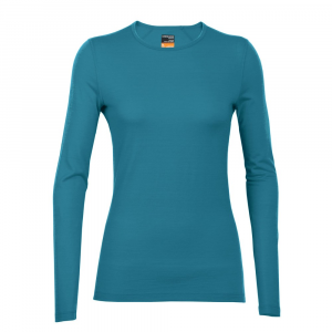 Icebreaker Bodyfit200 Lightweight Oasis Long Sleeve Crewe Top Women's