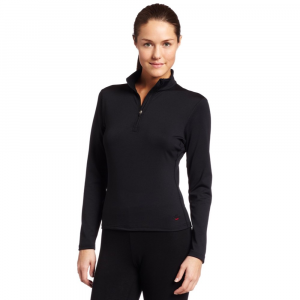 Hot Chillys Micro-Elite Chamois Solid Zip-T Top - Women's 133910