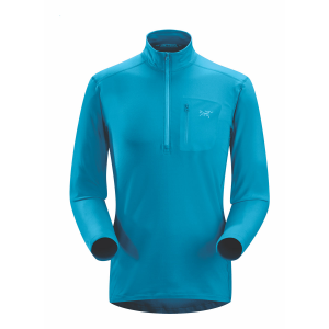 Arc'teryx Rho LT Zip Neck Top Men's