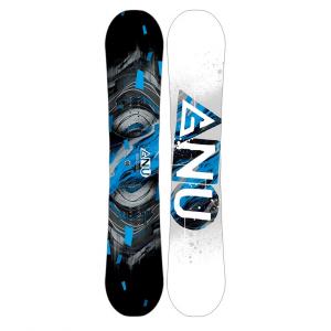 Gnu Carbon Credit Asym BTX Snowboard - Men's
