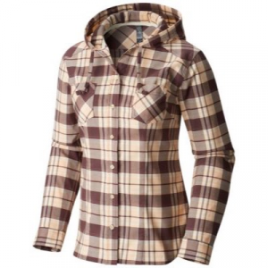 Mountain Hardwear Stretchstone Flannel Hooded Long Sleeve Shirt - Women's