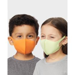 REUSABLE KID'S 5-PACK FACE COVERING MASK