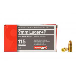 Aguila 9mm 115gr Full Metal Jacket Ammo - Box of