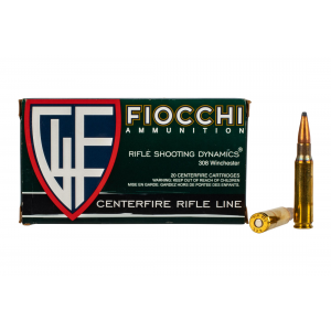 308 Winchester 150gr Pointed Soft Point Ammo - Box of 20
