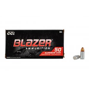 9mm 124gr Full Metal Jacket Ammo - Box of 50