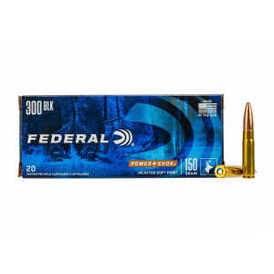 300 Blackout 150gr Point Ammo - Box of 20