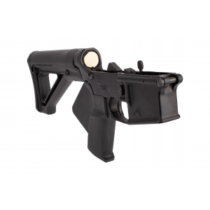 Aero Precision Featureless Complete Lower Receiver - Magpul Fixed Carbine Stock Black