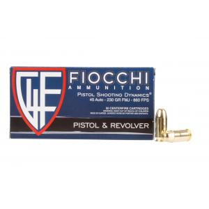 45 ACP 230gr Full Metal Jacket Ammo - Box of 50