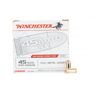 .45 ACP 230gr Full Metal Jacket Ammo - Box of