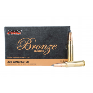 308 Win 150gr Point Ammo - Box of 20