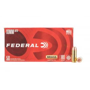 10mm 180gr Full Metal Jacket Ammo - Box of 50