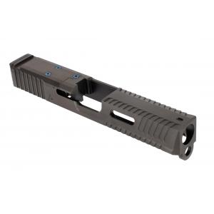 Agency Arms Peacekeeper Slide For Glock 19 Gen 3 - AOS Cut - Black