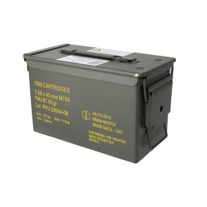 5.56 55gr Full Metal Jacket Ammo - Case of 1000
