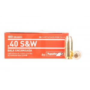 40 S&W 180gr Full Metal Jacket Ammo - Box of 50