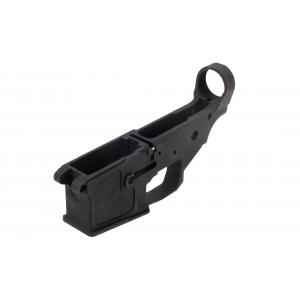 17 Design Billet AR-15 Stripped Lower Receiver - Black