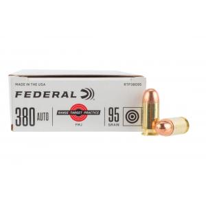 380 ACP FMJ Ammo - Box of 50