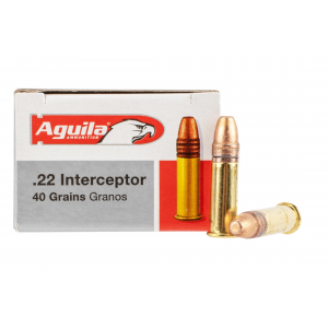 22LR 40gr Copper Plated Round Nose Ammo - Box of
