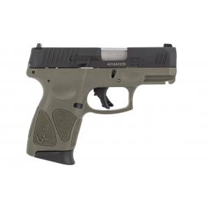 9mm Sub Compact Pistol - OD Green 12 Round