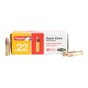 Aguila Ammunition .22lr Super Extra 40gr CPRN - Box of 50