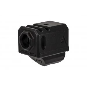Agency Arms 417 Compensator for Glock 17/19/34 Gen4 - Black