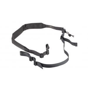 2 Point Wide Padded Sling - Black