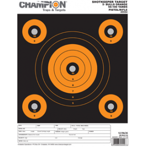 Champion Shotkeeper 5Bulls Orange Small 12PK 45554