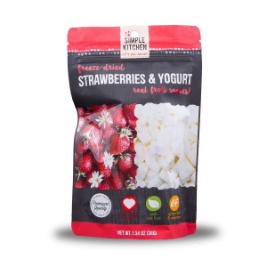 Wise Foods Simple Kitchen Freeze Dried Strawberry & Yogurt, Single Pouch - SK05-913