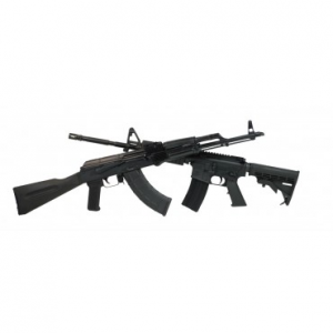 PSA AR-15/ Blem AK-47 Rifle Set With Matching Serial Numbers
