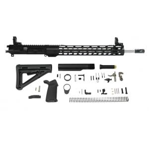 PSA 1/7 Stainless Steel Lightweight M-lok MOE EPT Rifle Kit w/MBUS Sight Set