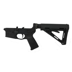 PSA AR-15 Complete Lower Magpul MOE Edition With Geissele SSA-E Trigger - Black, No Magazine - 516444743