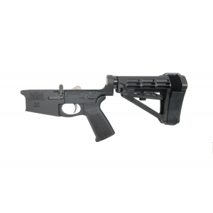 PSA Gen3 PA10 Forged Complete MOE EPT .308 Lower With Over Molded Grip