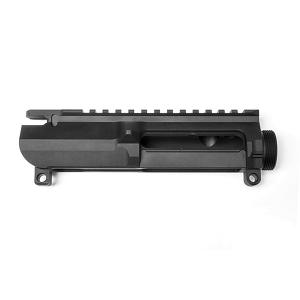 .223 Rem/5.56 Billet Upper Receiver for AR-15 Style Rifle, Hardcoat Anodized Black -