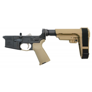 PSA AR15 Complete MOE EPT with adjustable brace Lower, FDE - 5165448739
