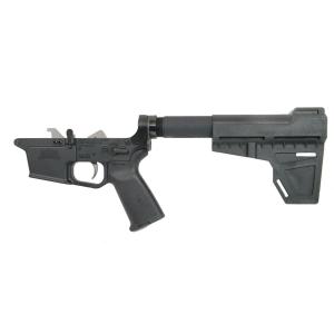 PSA PX9mm Forged Complete MOE EPT Shockwave Lower, Black - uses GlockA(R)-style magazine
