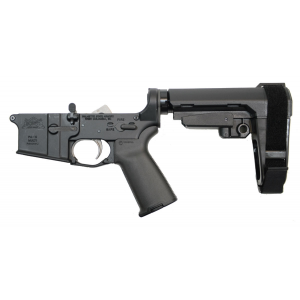 PSA AR-15 MOE+ EPT with SBA3 Adjustable Brace Lower - 5165450684