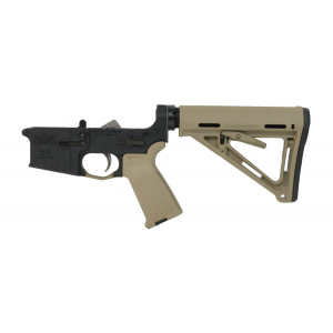 PSA AR-15 Complete Lower Magpul MOE Edition - Flat Dark Earth, No Magazine