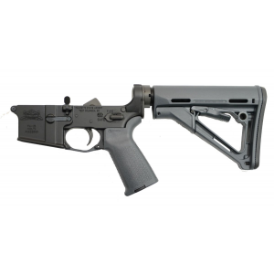 PSA AR-15 Complete Lower Magpul CTR Edition, Gray - 5165448208