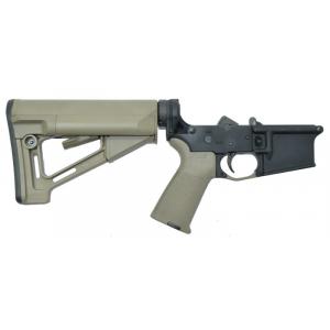 PSA AR-15 Complete Lower Magpul STR Edition - FDE, No Magazine