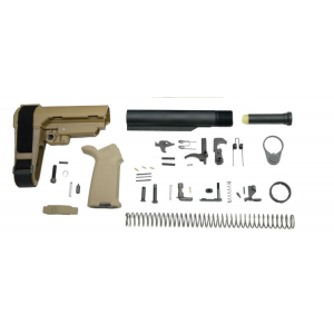 PSA AR-15 Lower Build Kit - Flat Dark Earth