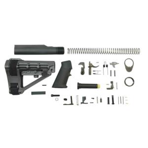 PSA Classic Pistol Lower Build Kit, Black