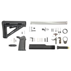 PSA AR-15 MOE+ Lower Build Kit - Black