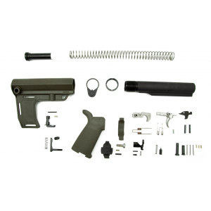 PSA MOE EPT Pistol Lower Build Kit, Olive Drab Green