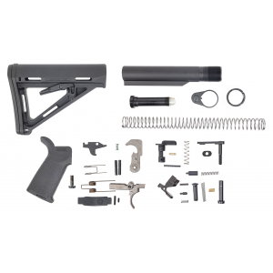 PSA MOE Lower Build Kit, Black