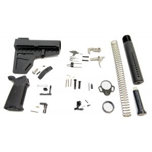 PSA Pistol MOE EPT Lower Build Kit, Black