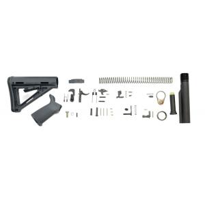 PSA MOE Lower Build Kit, Gray
