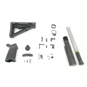PSA AR15 MOE Lower Build Kit without Fire Control Group, Black