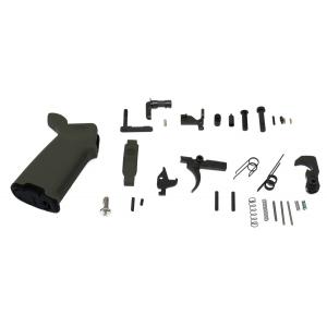 PSA AR-15 Lower Parts Kit MOE+, OD Green - 24108