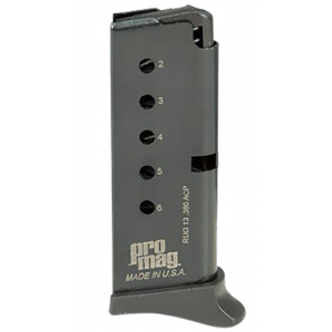 ProMag Round .380 ACP Ruger LCP Detachable Magazine, Blue - RUG