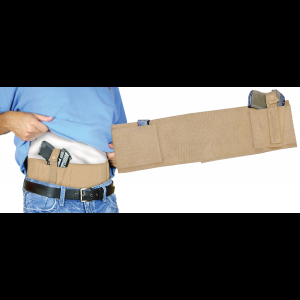 PS Products Handgun Concealed Carry Belly Band, Tan -